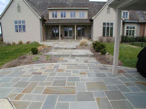 Backyard Brick Fireplace Steven Goff Masonry Stone Flooring Amp Patio