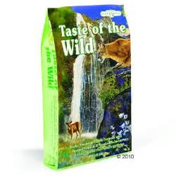 great bargains on taste of the wild at zooplus taste of the wild rocky mountain feline