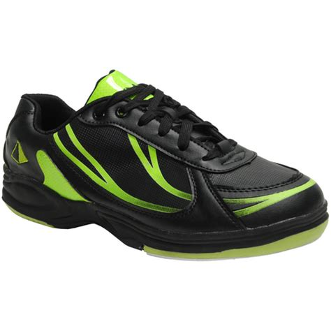 pyramid path sport s black lime green bowling shoes