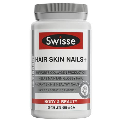 hair skin and nails buy swisse ultiboost hair skin nails 100 tablets online