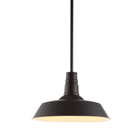 Zuo Tin 1 Light Rust Ceiling Pendant 98245 The Home Depot Tin Pendant Light