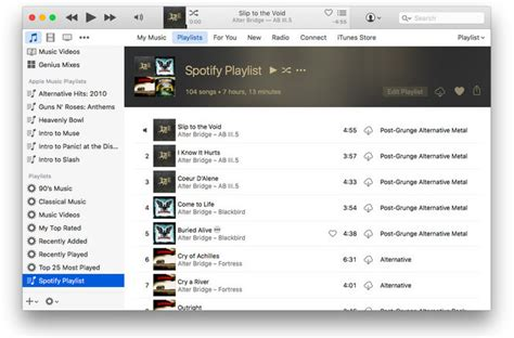 how to move spotify music to itunes best way to transfer spotify playlist to itunes library