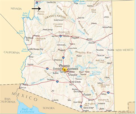 arizona western college map northwestern arizona gets shaken again the daily courier