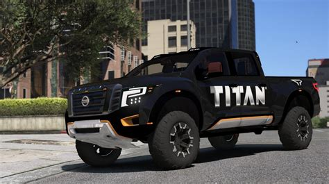 nissan titan warrior 2017 nissan titan warrior 2017 add on replace livery
