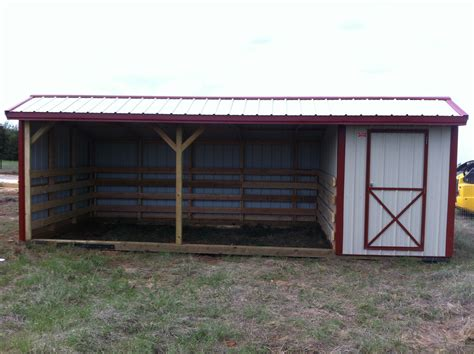 Room Sheds by Metal Shed W Tack Room Oakley Portable Buildings