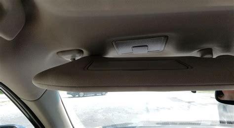 2015 Nissan Pathfinder Driver Side Sun Visor by 2013 Nissan Pathfinder Sun Visor Falling 10 Complaints