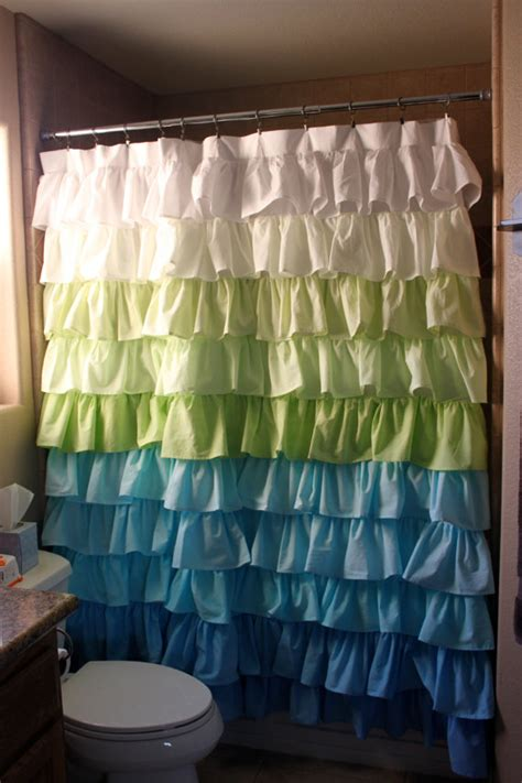 waterfall shower curtains items similar to fading waterfall shower curtain on etsy