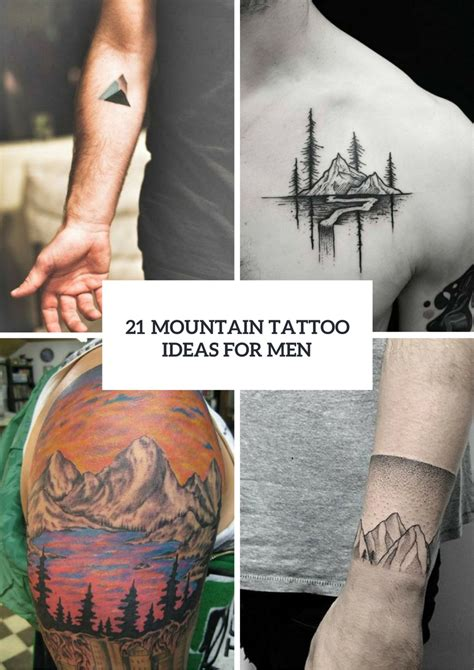 picture tattoos for men picture of stunning mountain ideas for
