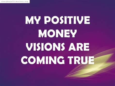successful affirmations  money