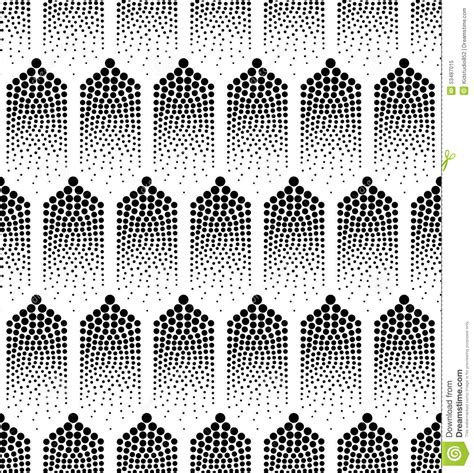 seamless dots geometric pattern stock vector art 487524003 seamless abstract geometric dots background stock vector