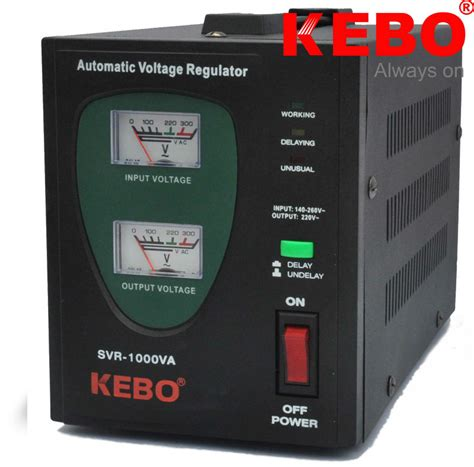 Samoto Stabilizer Servo Motor 1000va Limited kebo automatic voltage stabilizer single phase relay type