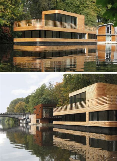 modern house boats 11 awesome exles of modern house boats contemporist