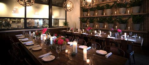 dining room at true food kitchen in san diego