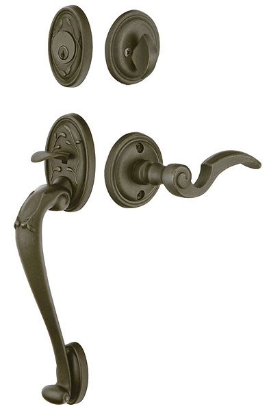 emtek door hardware emtek door hardware emtek tuscany sectional entrance handleset