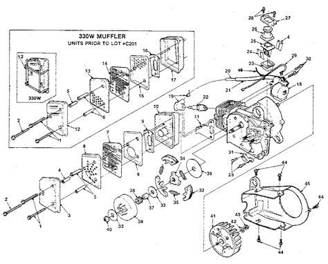 homelite xl parts diagram 43 homelite xl chainsaw parts diagram skewred