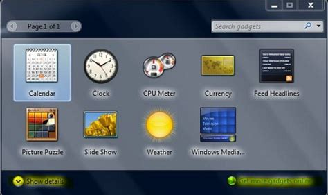 windows 7 gadgets free to customize pc desktop