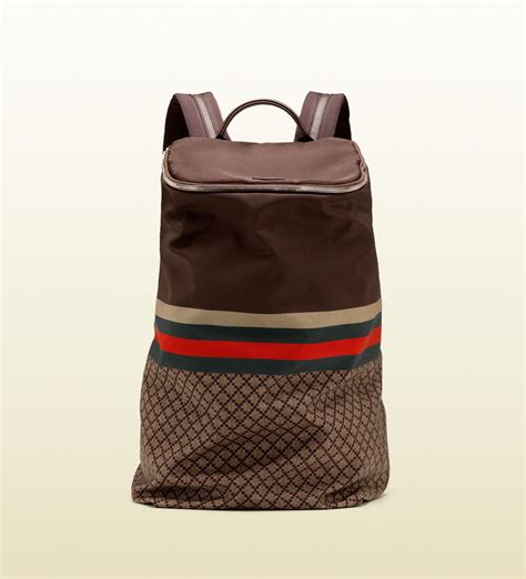 gucci large backpack in for lyst