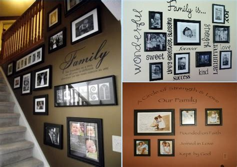 family picture wall ideas family photo wall ideas www pixshark images