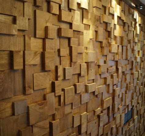 contemporary wooden wall