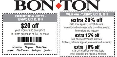 Bon Ton Free Gift Card - hot 10 off 25 bon ton coupon