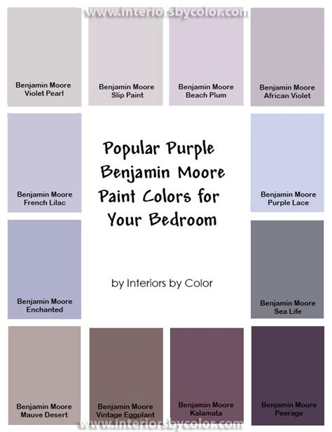 benjamin moore french lilac interiors  color