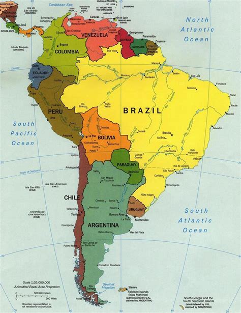 map of columbia south america the countries in america are brazil colombia