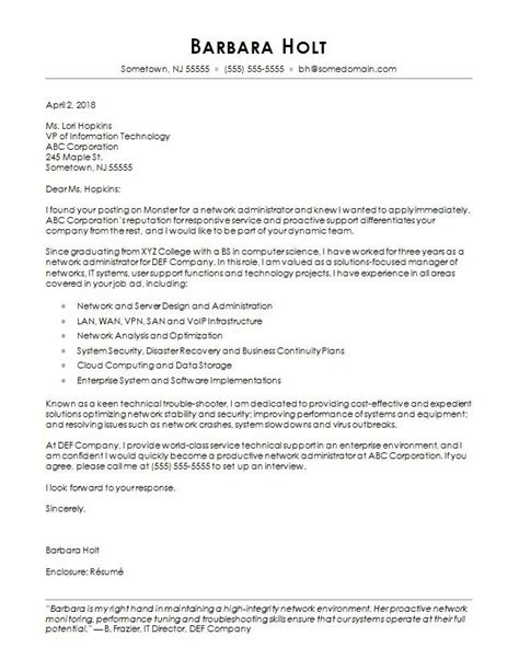 ict officer cover letter computer science cover letter sle