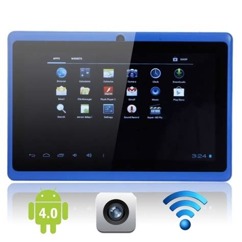 cheap android tablet capacitive touch screen 7 quot android 4 0 4gb tablet pc blue 183 cheap tablets from china ctfc