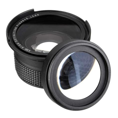 Lensa Fisheye Nikon D5100 0 35x fisheye wide angle lens for 52mm nikon d7000