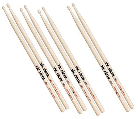 Stik Drum Vic Firth American Classic 5b Tip X5bn vic firth 5b american classic wood tip drumsticks 4 for