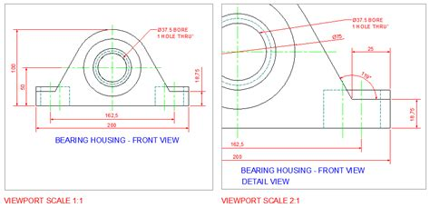 autocad tutorial using annotation scaling autocad viewports in model space model