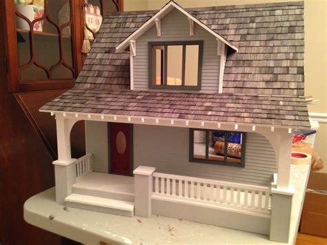 Superb Small Craftsman Bathroom Design #4: Beachside-Bungalow-Dollhouse-Roof-Color.jpg