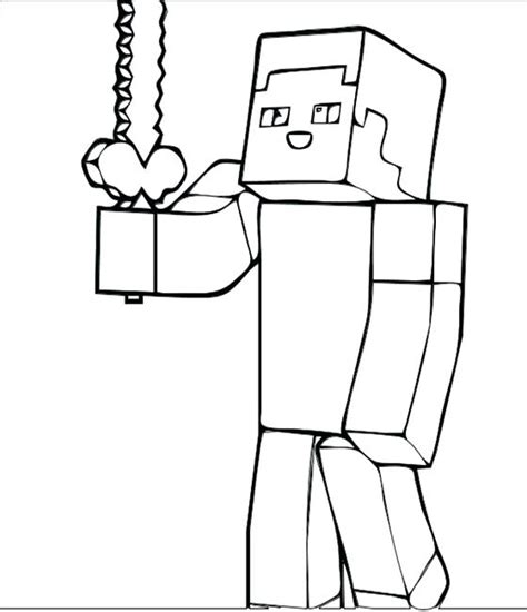 minecraft creeper coloring page creeper coloring page at getcolorings free printable