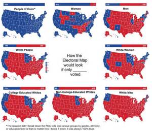 these maps and charts show where clinton and s