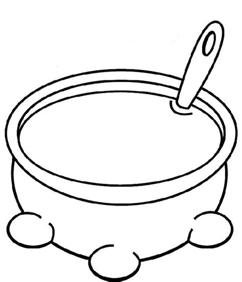 free coloring pages of vegetable soup