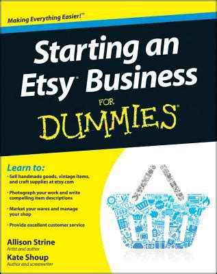 business letters dummies 5 books every etsy seller should read craft maker pro