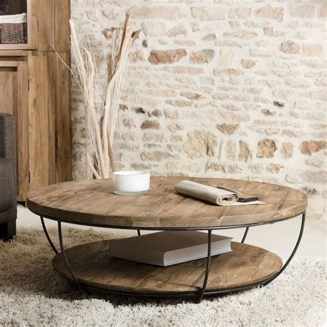 Table Basse Ronde by Table Basse Ronde Plateau 100cm Tinesixe So
