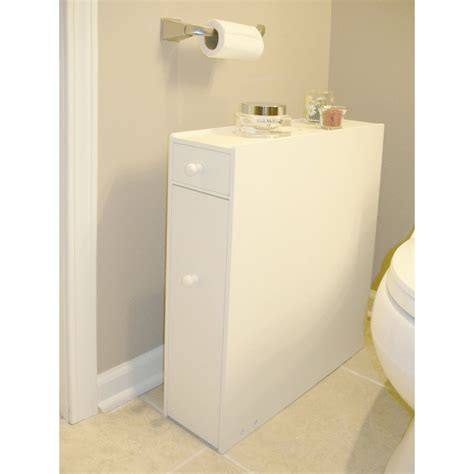 slim bathroom floor cabinet wood floors