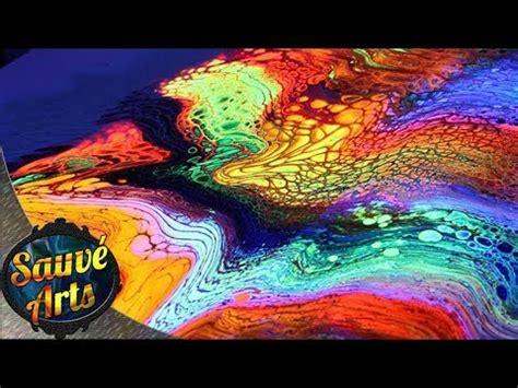 what body fluids glow under black light fluorescent fluid painting under black light swipe youtube