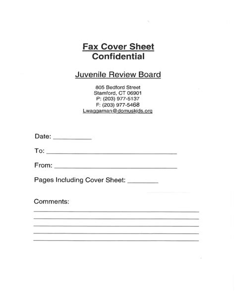 free printable confidential fax cover sheet fax cover sheet confidential free download