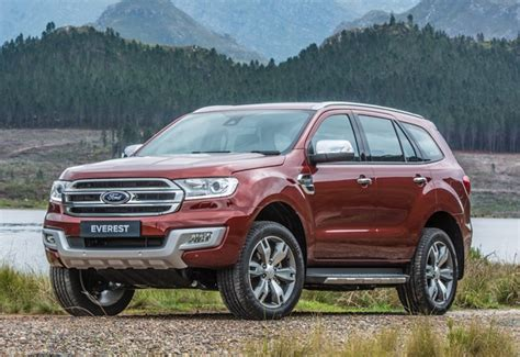 ford ranger upgrades ford upgrades ranger everest with sync 3 navigation and