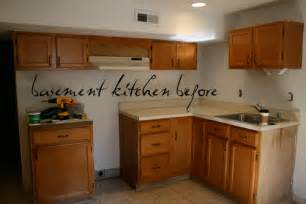 Basement Kitchen Cabinets basement kitchen before