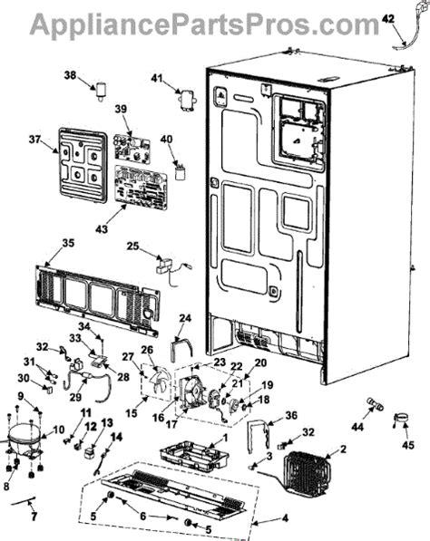 samsung refrigerator maker parts diagram samsung da41 00318a pba m appliancepartspros