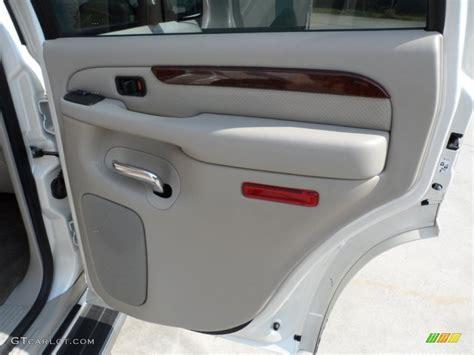 service manual   remove door panel  cadillac