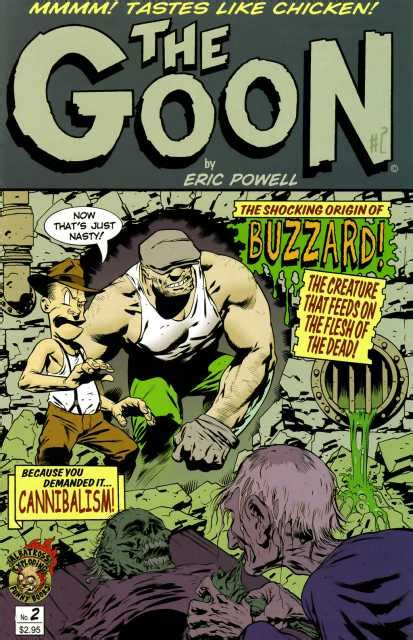 The Goon Volume 1 Nothin But Misery 2nd Edition the goon volume comic vine