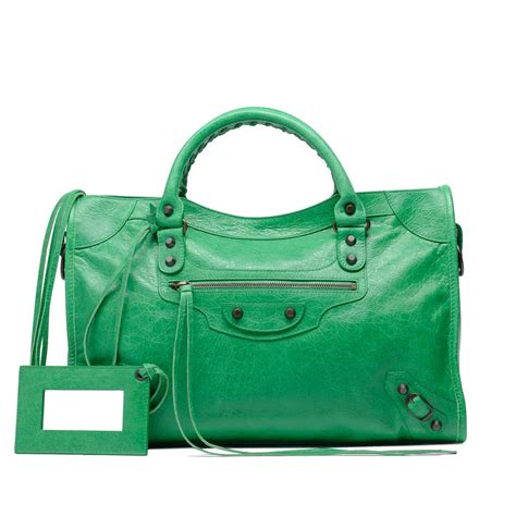 balenciaga green bags reference guide spotted fashion