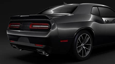 2017 Challenger Models by Mopar Dodge Challenger 2017 3d Model Buy Mopar Dodge