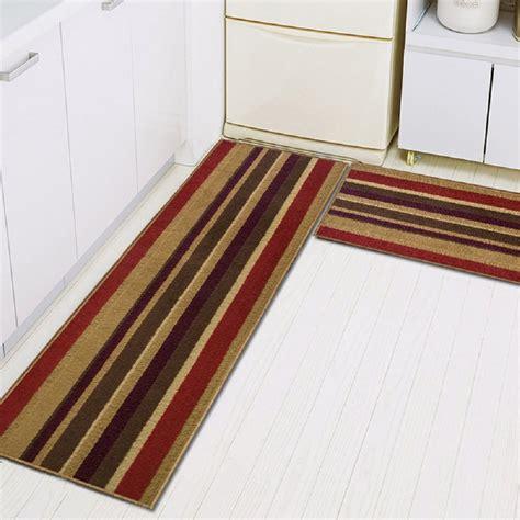Doormat Runner - 2 non slip kitchen mat rubber backing doormat runner