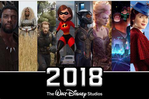 film marvel disney 2018 disney movies marvel lucasfilm and pixar motion
