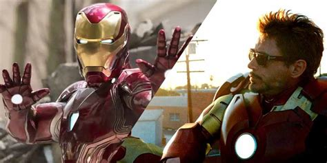 marvel boss appears confirm iron mans mcu exit